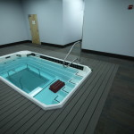 Our therapy pool with under water treadmill.