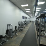 A look at our indoor walking track.