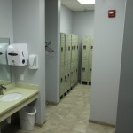 A glimpse of our locker rooms.