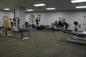 A view of our physical therapy department.
